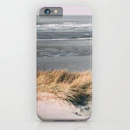 Sea low tide Touquet iPhone Case