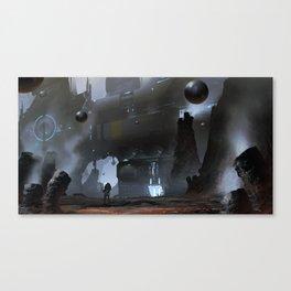 Mercury Mining Canvas Print