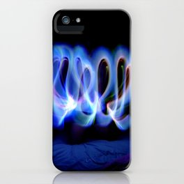 GLOWSTICKS IN THE BEDROOM iPhone Case