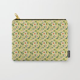 English Daisy-Mustard seed Carry-All Pouch