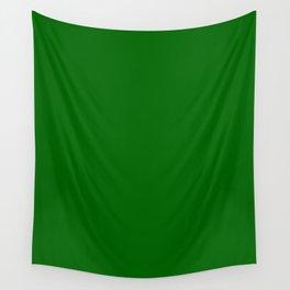 Dark Green Wall Tapestry