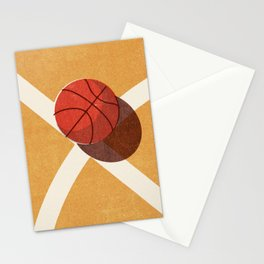 BALLS / Basketball (Indoor) Stationery Cards