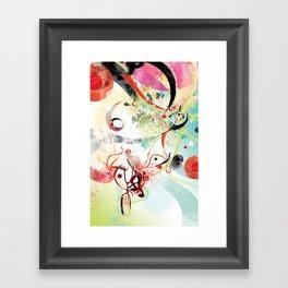 Bike Trip Framed Art Print