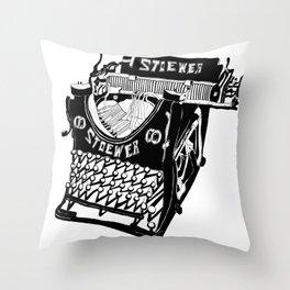 MAQUINA DE ESCRIBIR Throw Pillow