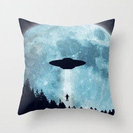The Trip Home... Throw Pillow