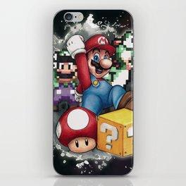 Mario et ses amis iPhone Skin