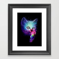 Slurp! Framed Art Print