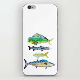 Caribbean Fish iPhone Skin