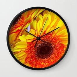 Sunflower Portrait Wall Clock