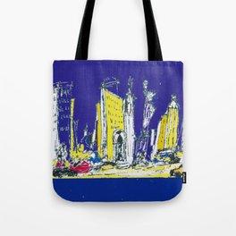 NEW YORK    by Kay Lipton Tote Bag