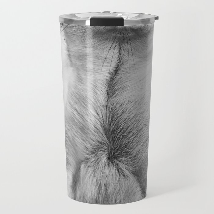 Meerkat portrait Travel Mug