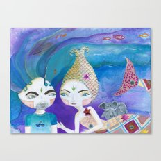 Two-getherness Canvas Print
