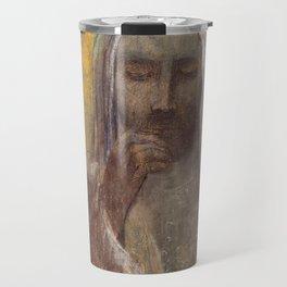 Christ In Silence  - Odilon Redon Travel Mug