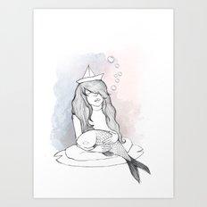 Water Love Art Print
