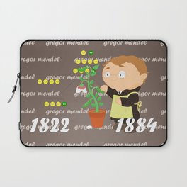 Gregor Mendel Laptop Sleeve
