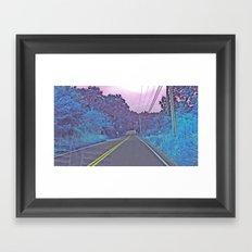 Between Night & Day Framed Art Print