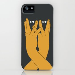 Hands mask iPhone Case