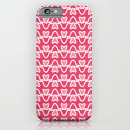 Cute Heart Pattern  iPhone Case