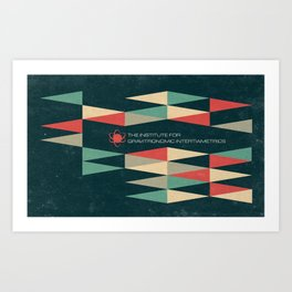 The Institute Art Print