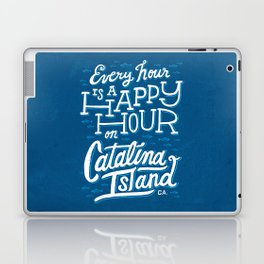 Every Hour is a Happy Hour Blue Laptop & iPad Skin