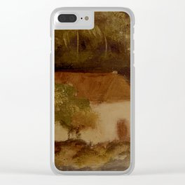 Cinnamon Bay 3 Clear iPhone Case