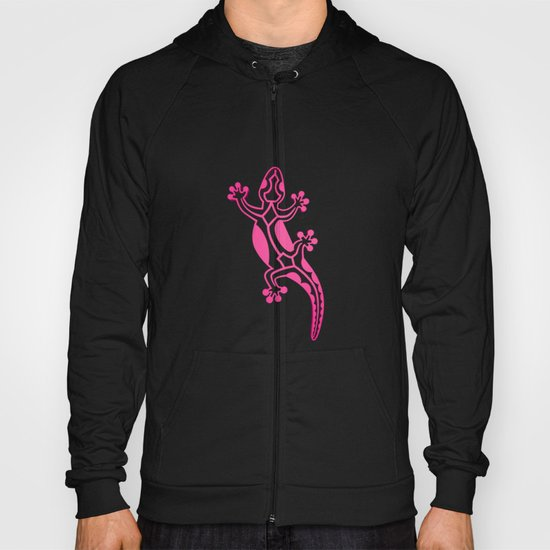 Pink Salamandra Hoody