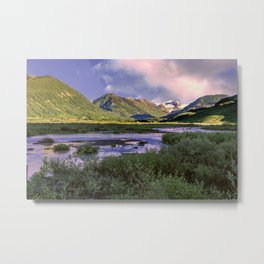 Crested Butte Sunrise Metal Print