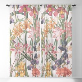 Magical Garden XX Sheer Curtain