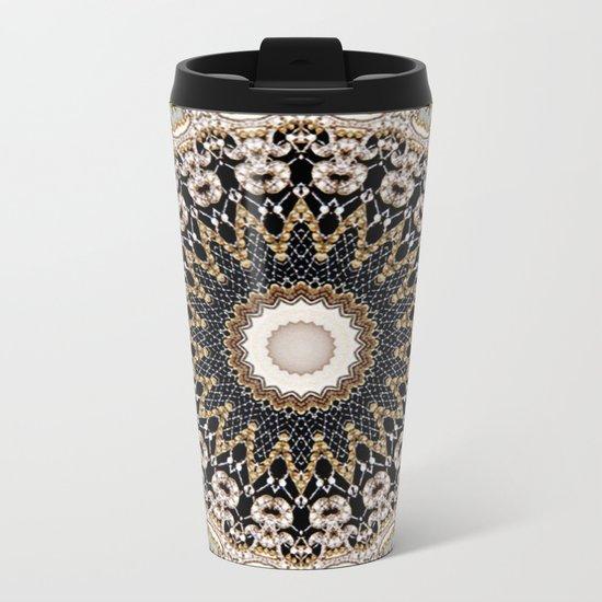 Mandala Hahusheze  Metal Travel Mug