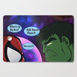 Hulk and Spidey! Cutting Board