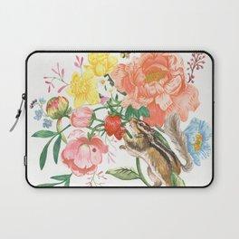 Garden Chipmunk Laptop Sleeve