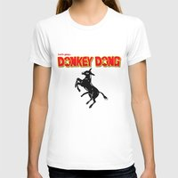 donkey T-shirts featuring Donkey Dong by Metscha