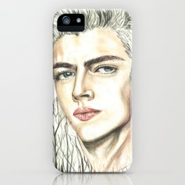 Double Exposure man portrait / Lucky Blue Smith iPhone Case