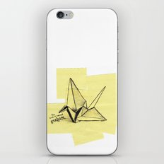 this bird is named graham iPhone & iPod Skin