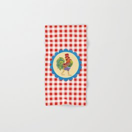 Rise and Shine Rooster Hand & Bath Towel