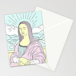 Mona Lisa Pop Stationery Cards