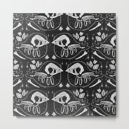 SPOOKY BIRBS Metal Print