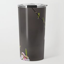 Time to Shine - Magnolia Flowers Travel Mug