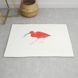 Les Animaux: Scarlet Ibis Rug