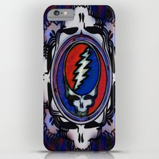 Grateful Dead 'Steal Your Face' Psychedelic Skull Optical Illusion Slim Case iPhone 6s Plus