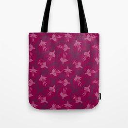 Pink Fuchsias in Bloom Tote Bag
