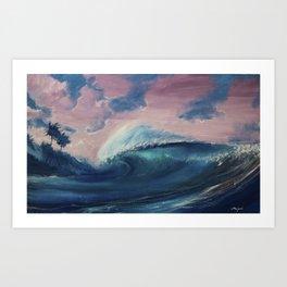 A sunset Art Print