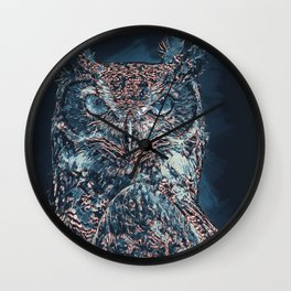 The Night Owl Wall Clock