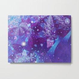 Abnormal Space Metal Print