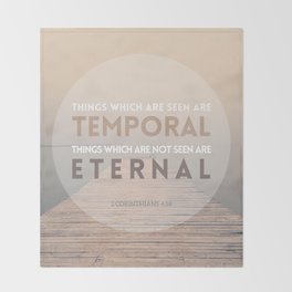 ETERNAL Throw Blanket