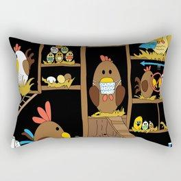 Chicken Coop 2020 Rectangular Pillow
