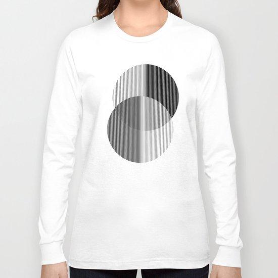 circles lines Long Sleeve T-shirt