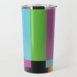 Colour Bars Travel Mug