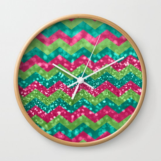Candy Wonderland Wall Clock