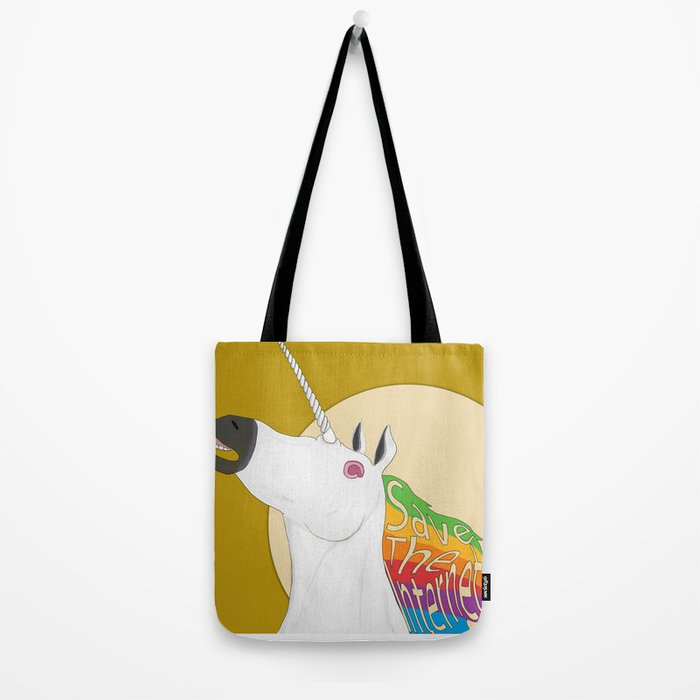 Save The Internet Tote Bag